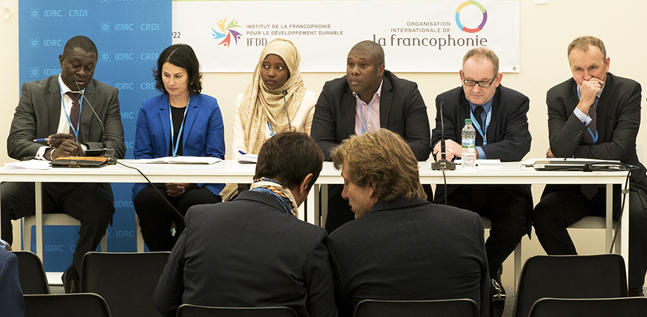 Dr. Abdoulaye DIARRA at the COP22 side event